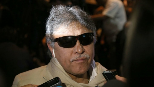 Colombia says ex-FARC leader held in drug probe