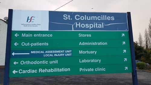 St Columcille's Hospital said progress has been made to 'stabilise' the situation