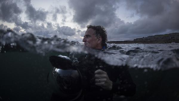 Underwater cameraman Ken O'Sullivan