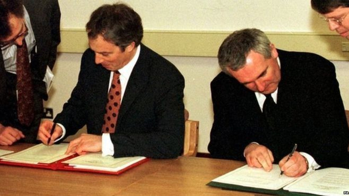 Art, culture and the 20th anniversary of the signing of the Good Friday Agreement
