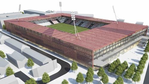 The proposed Richmond Arena in Inchicore
