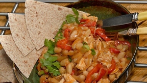 Kevin Dundon's Cajun Bean & Chicken Chilli