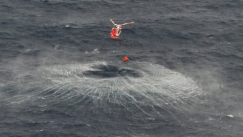 All three were airlifted from the raft and taken to hospital in Sligo