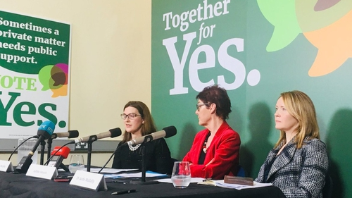 The Together for Yes campaign say woman need regulated care from their doctors