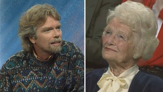 Richard Branson and Dorothy Huntley-Flindt (1993)