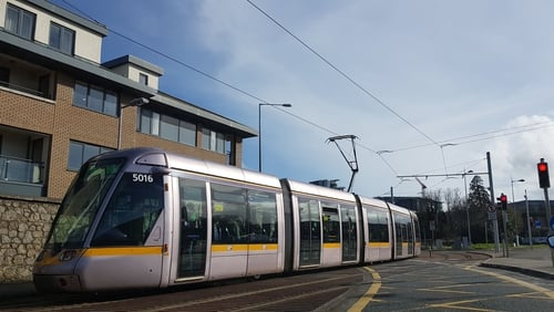 The research, by Daft, analysed the average asking prices for two and three bedroom properties close to each of the 67 Luas stops in the Greater Dublin Area