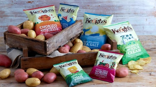 Keogh's Crisps of North Dublin wins major contract with the Emirates airline