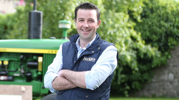 Tom Keogh, founder and boss of Keogh's Crisps
