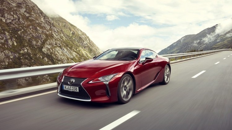The LC 500 Puts Lexus Firmly In The Mainstream, With Its Bold And  Imaginative Styling