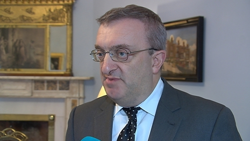 Lord Mayor of Dublin Mícheál Mac Donncha is currently in Ramallah