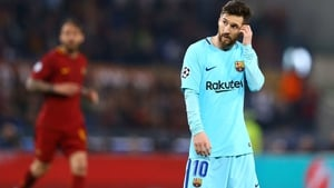 Lionel Messi's side crashed out in Italy