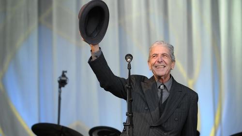 Leonard Cohen at the 2008 Glastonbury Festival. Photo: Jim Dyson/Getty Images