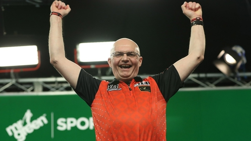 Mickey Mansell is on the board after winning his maiden PDC title