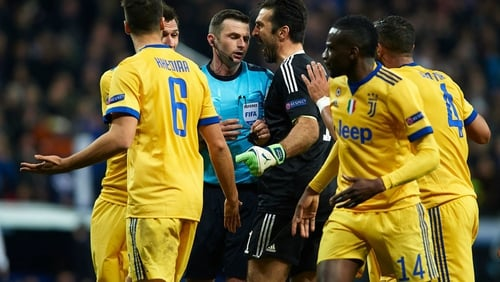 UEFA Condemn Abuse On Michael Oliver`s Wife