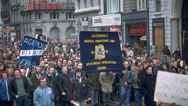 Pay As You Earn (PAYE) march in Dublin (1979)