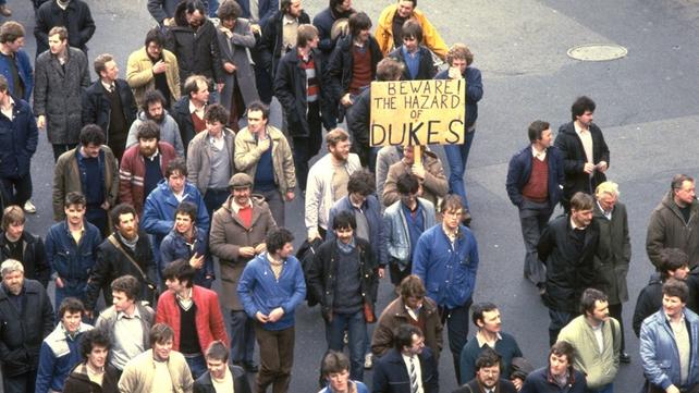 PAYE Protest in Dublin (1983)