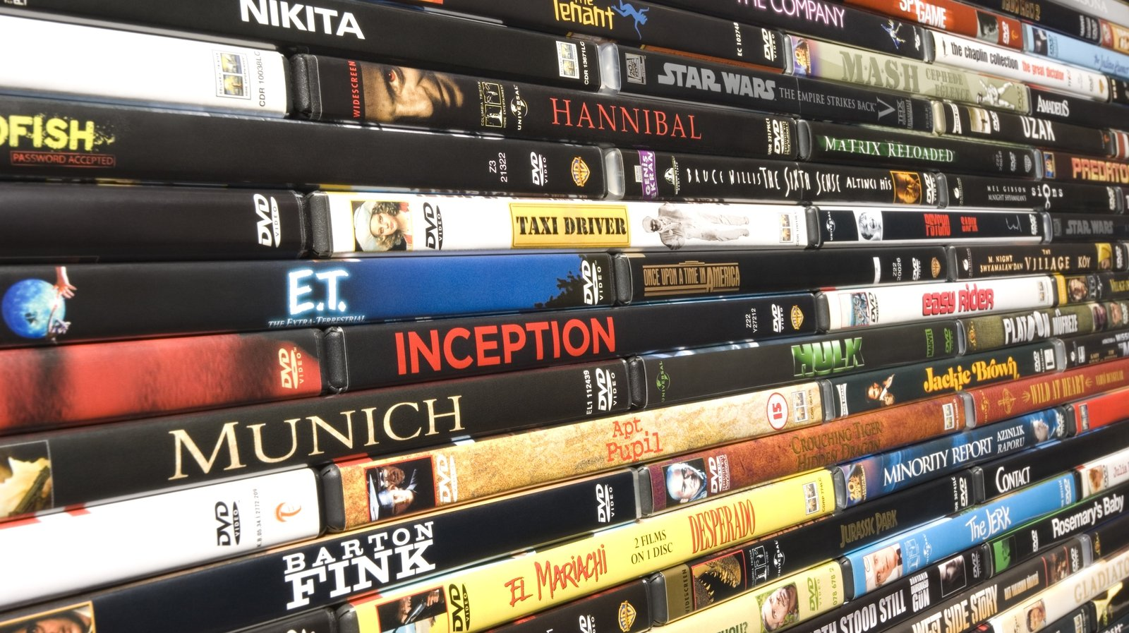 Image - DVD libraries - a thing of the past?
