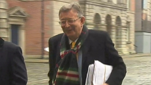 Gerald Kean is appearing at the Disclosures Tribunal today