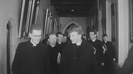 Seminarians in Saint Patrick's College, Maynooth (1963)