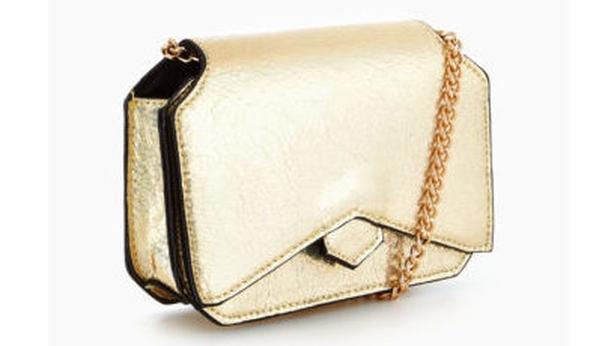 Micro Mini 80's Chain Strap Bag