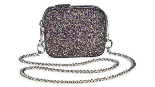 Trixie Mini Glitter Shoulder Bag