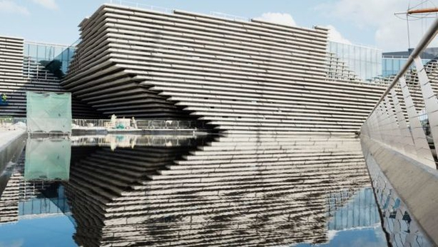 Construction of the new V&A in Dundee (Ross Fraser McLean/PA)