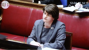 Arlene Foster was the Stormont Enterprise Minister at the time the scheme was launched in November 2012