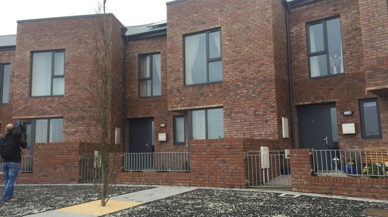 Homes built as part of regeneration plan opened in cork the new townhouses and apartments were constructed in two phases at a cost of 106 malvernweather Choice Image