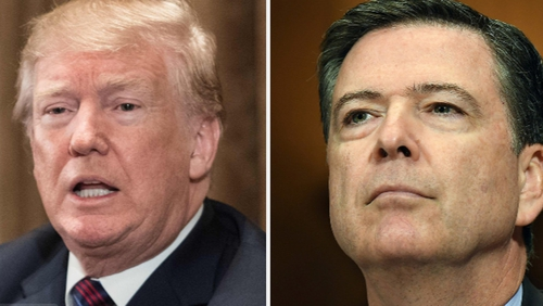 Trump Again Calls Comey A 'Slimeball'