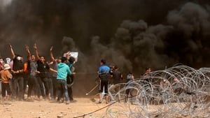 Israel has declared a no-go zone close to the Gaza border fence