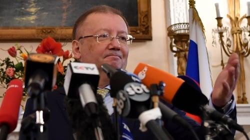 Alexander Yakovenko said the UK had not produced any evidence