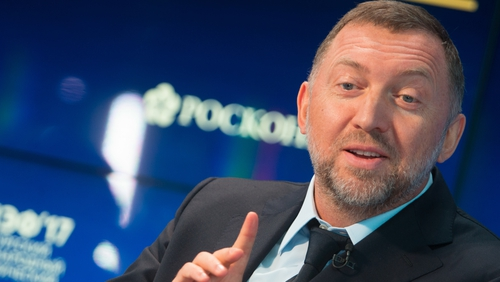 Oleg Deripaska, part owner of Rusal, the biggest aluminium producer in the world