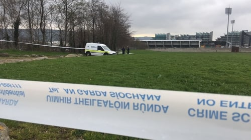 The man was found by a passer-by shortly before 8am