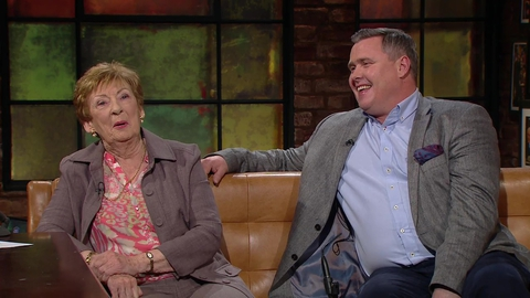 Gillian Hussey and Paul Mahon | The Late Late Show