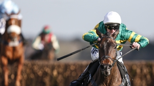 Richie McLernon riding Regal Encore to win at Ascot in February
