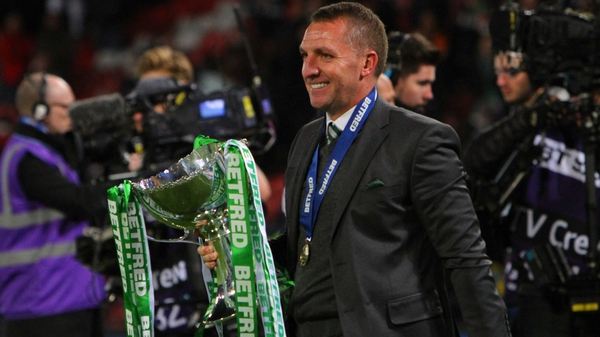 Brendan Rodgers continues to bring silverware to Celtic Park