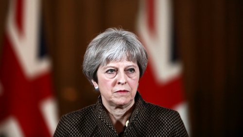 Theresa May said peace in Northern Ireland today is 'very much due to the work of our armed forces'