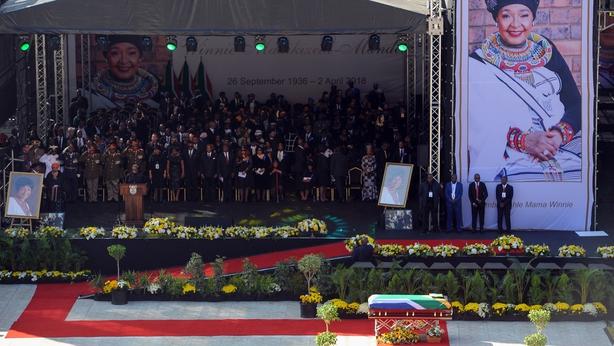 Culture shock for Brazilian photographer attending Winnie Madikizela-Mandela's memorial