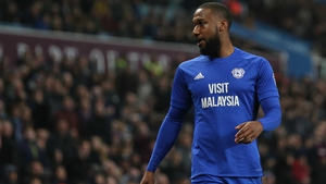Junior Hoilett was on target for Cardiff