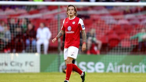 Rhys McCabe (file pic)