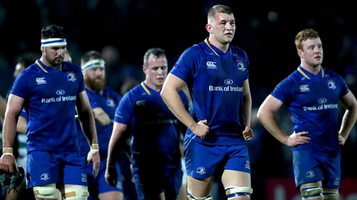 Leinster suffered a shock home defeat