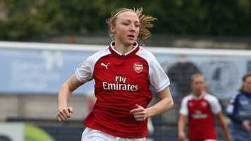 Louise Quinn joined Arsenal from Notts County