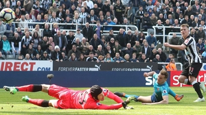 Matt Ritchie steers home the winner