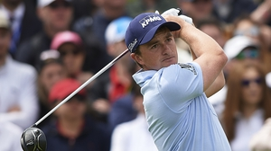 Paul Dunne led going into the final day