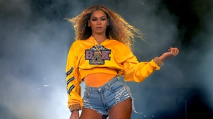 All hail Queen Bey. Beyonce onstage at Coachella 2018. Photo: Kevin Winter/Getty Images for Coachella