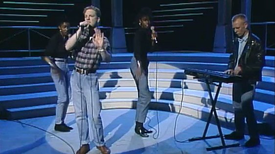 Erasure on 'The Late Late Show' (1988)