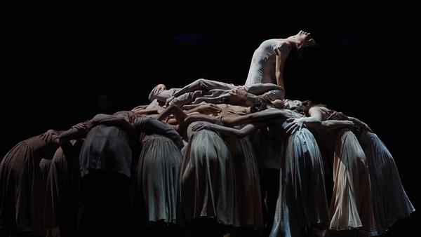Tamara Rojo in Akram Khan's Giselle. Pic: Laurent Liotardo