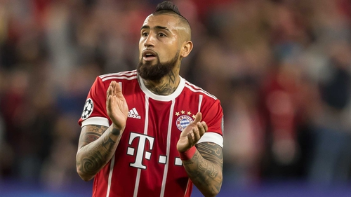 Arturo Vidal requires knee surgery
