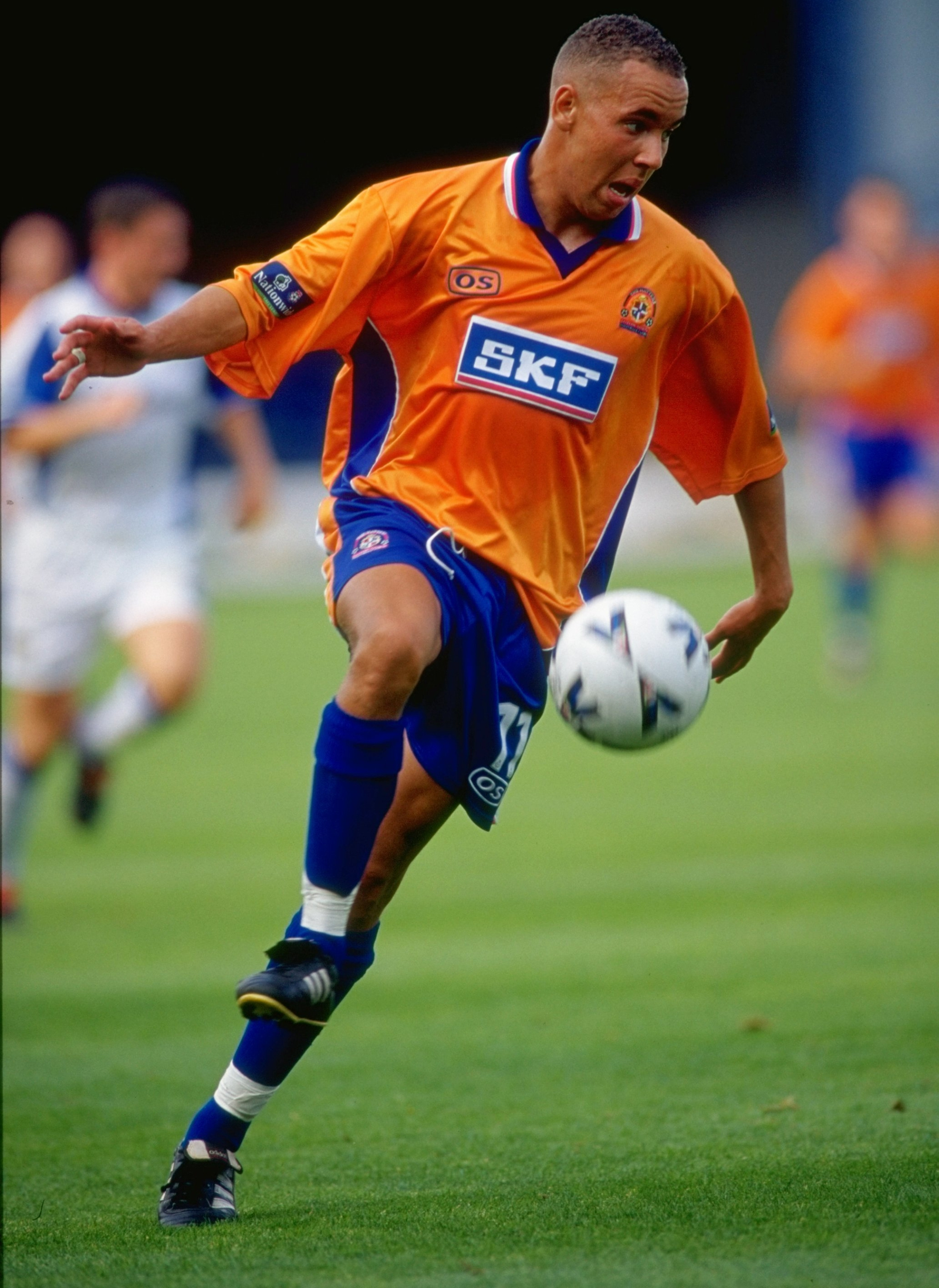Image - George in action for Luton Town in 1999