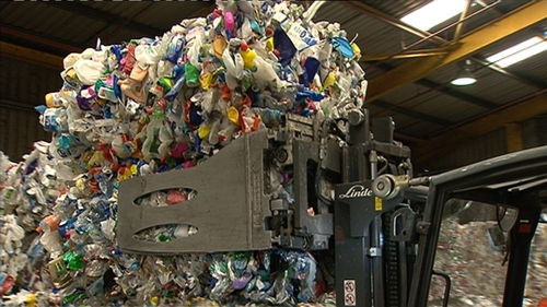 Discarded PET used in plastic bottles takes hundreds of years to degrade